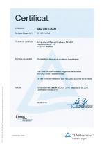 La norme DIN ISO 9001 certifie des processus fluides