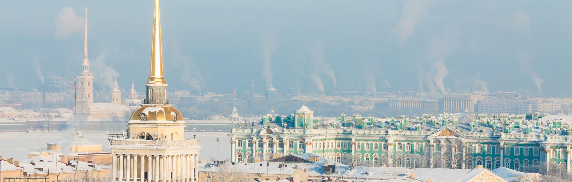Sprachreisen nach Sankt Petersburg