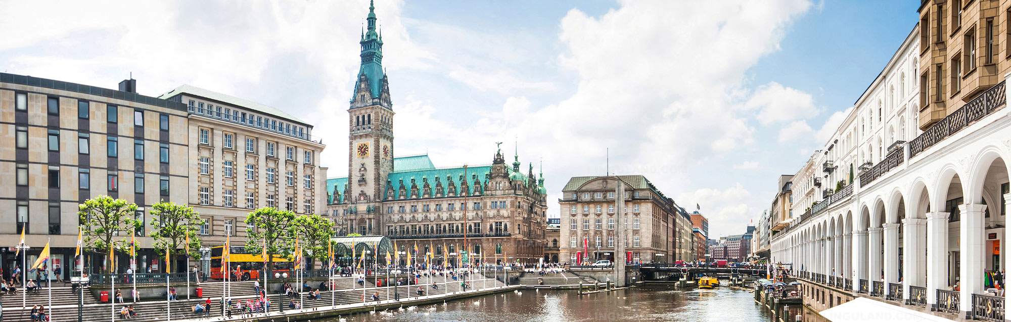 Écoles de langue à Hambourg