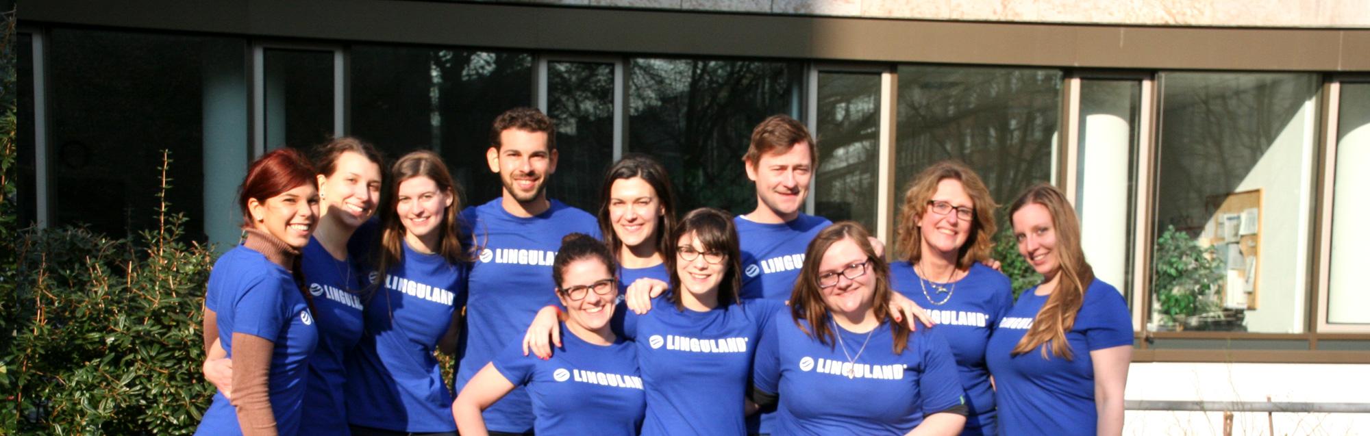 Das Team von Linguland - und wo wir schon waren