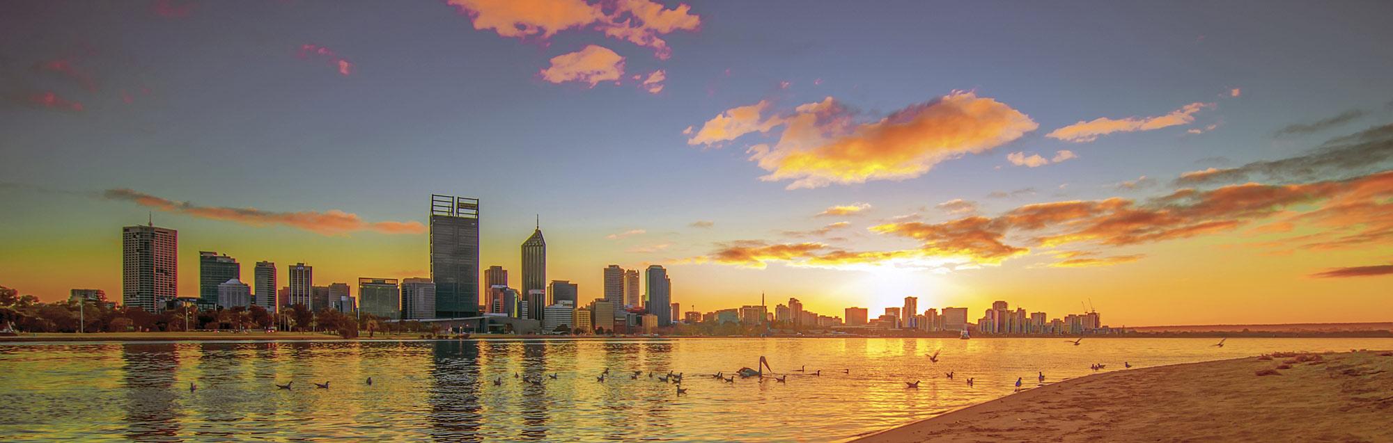 Cursos de inglés en Perth