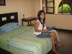 Gastfamilie Einzelzimmer mit eigenem Bad und HP